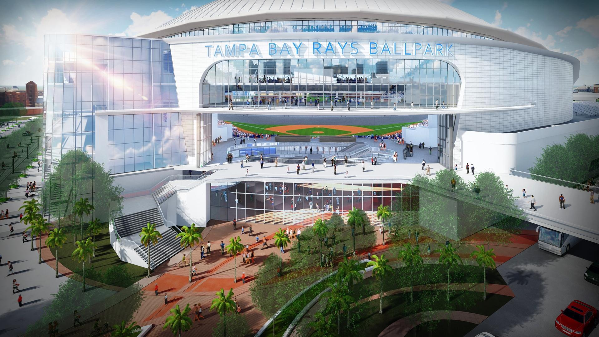 Tampa Bay Rays Unveil Design For Ybor City Ballpark   WUSF ...
