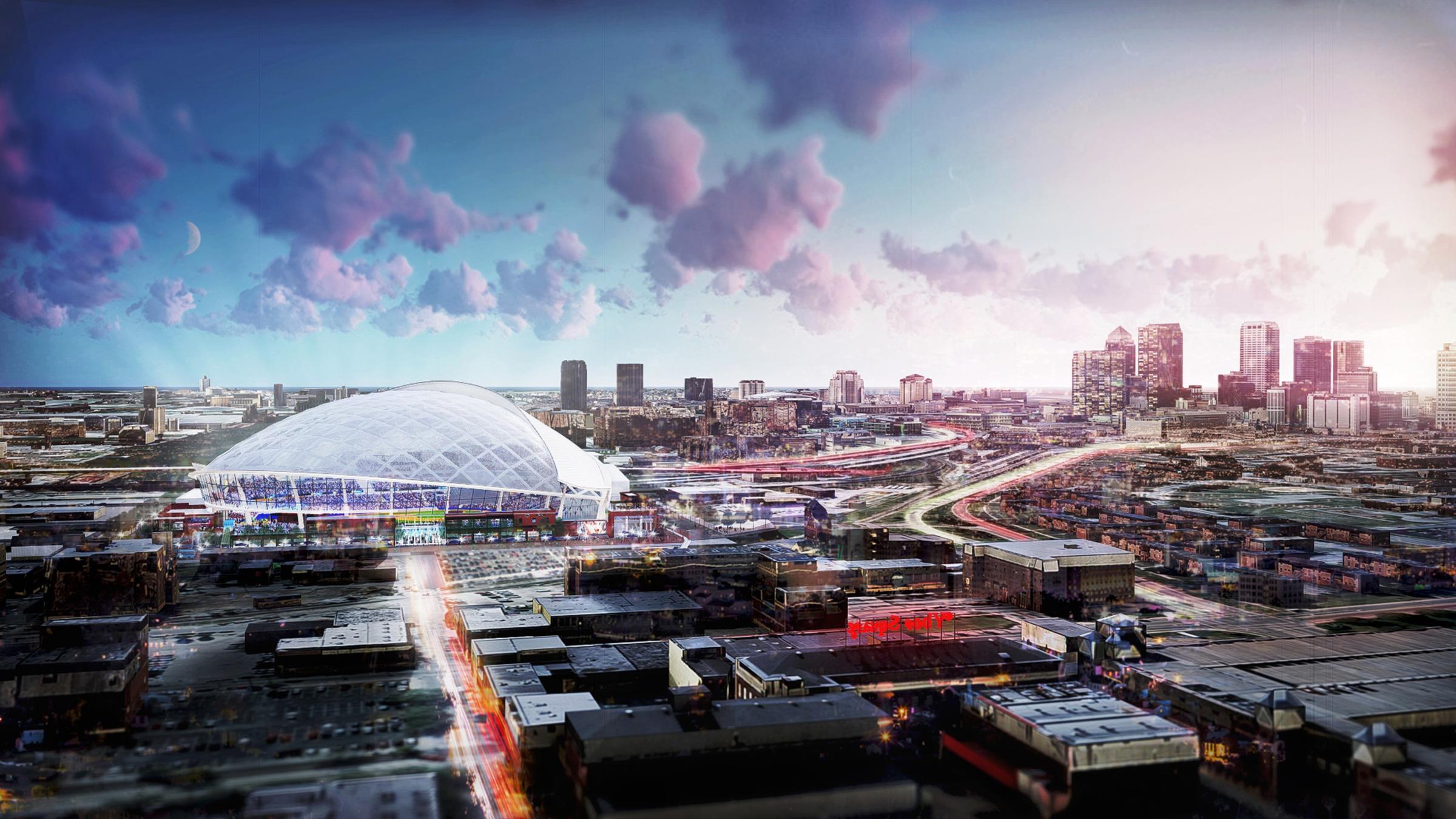 Tampa Bay Rays Unveil Design For Ybor City Ballpark | WUSF ...
