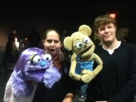 Emma Wiseman and Eric Wyatt are the voices of Kate Monster and a Bad Idea Bear.