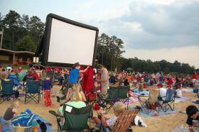 Beach Blanket Movie Night
