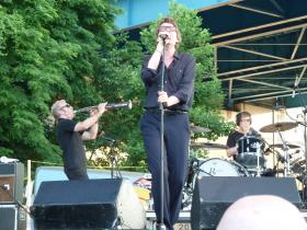 The Psychedelic Furs hit the Bud Light stage for an early set.