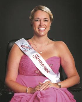 Bliss Welch is both Ms. Wheelchair Tennessee 2013, and the first runner up for Ms. Wheelchair America 2014.