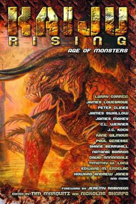 The anthology Kaiju Rising features a short story by Chattanooga author Shane Berryhill.