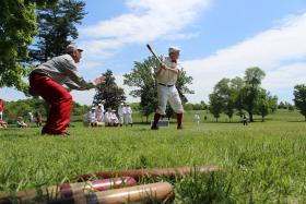 Vintage Base Ball Follows 19th Century Rules.
