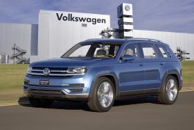 New midsize SUV from Volkswagen to be produced in Chattanooga (Concept car shown)