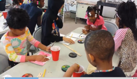 This YouTube video shows children participating in a SPLASH workshop in February.