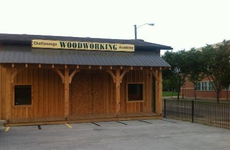 The Chattanooga Woodworking Academy is located across the street from Battle Academy.