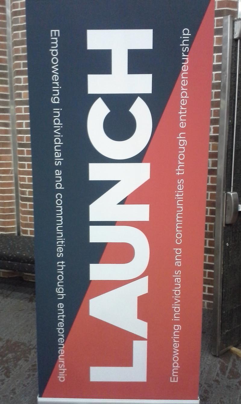 LAUNCH banner
