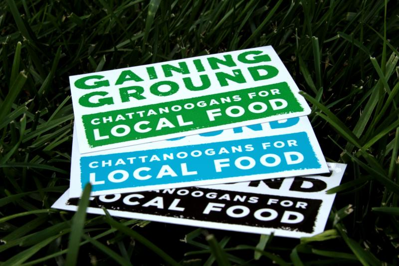 "The local food advocacy group Gaining Ground is sponsoring ""Harvested Here"" restaurant week."