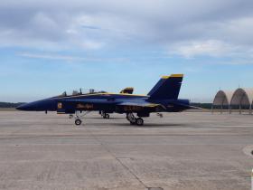 Blue Angels Jet at NAS Pensacola