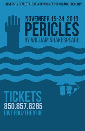UWF Theater Department presents Pericles.