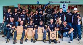 Team IHMC at the DARPA Robotics Challenge.