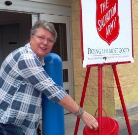 Pensacola resident makes a donation