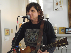 Amy Ray on Acoustic Interlude at the 30-A