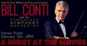 The PSO performs movie music this weekend.