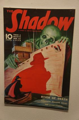 """Cover of an issue of """"The Shadow"""" magazine"""