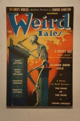 """Cover of an issue of """"Weird Tales"""" magazine"""