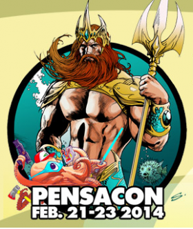 Logo for Pensacon 2014/www.pensacon.com