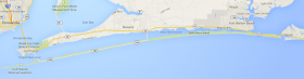 The Highway 98 expansion is slated between Avalon Blvd and Gulf Islands National Seashore.