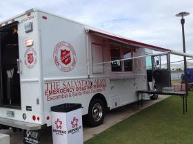The Salvation Army's new 2014 Food Truck