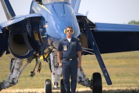 Blue Angels at Rochester International Air Show. July 16, 2011