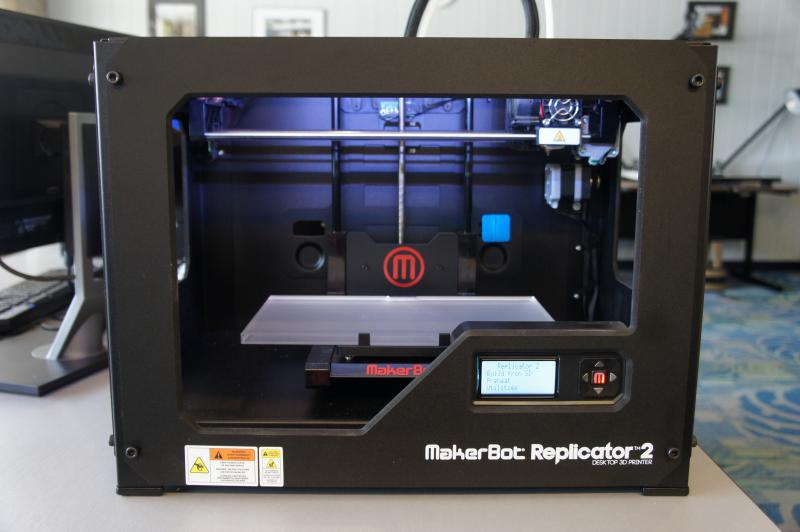 Makerbot Replicator II, a 3D printer