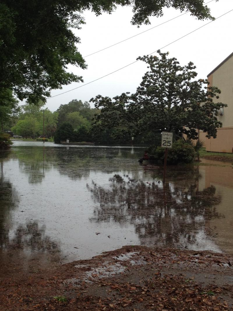 First Baptist Church at Gilmore and Fairpoint Dr in Gulf Breeze