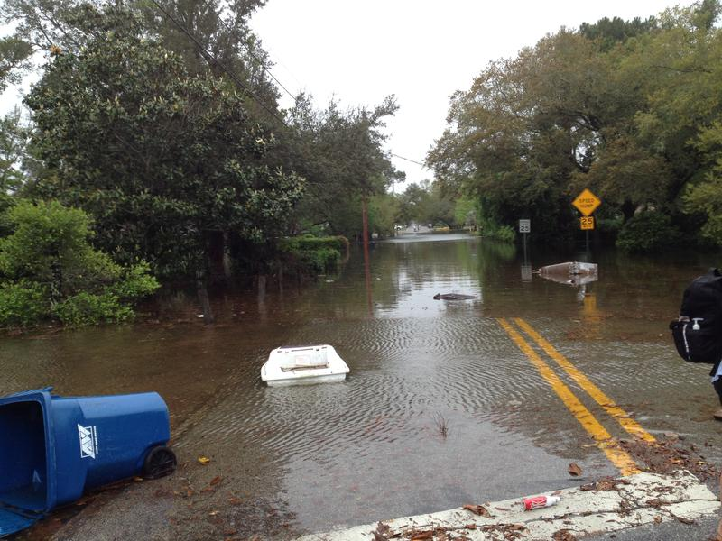 Flooding in Gulf Breeze