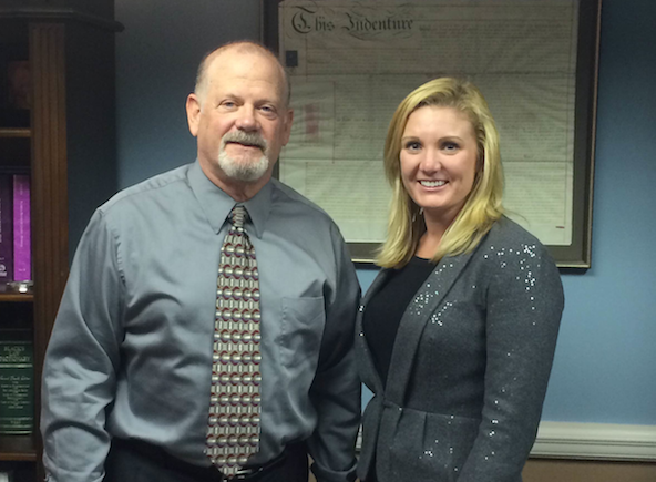 Bart Fleet and his law office partner Whitney Smith of Fleet & Smith, PA