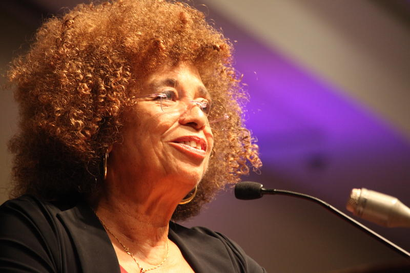 Dr. Angela Davis speaks at the 14th Annual UWF Women's Studies Conference
