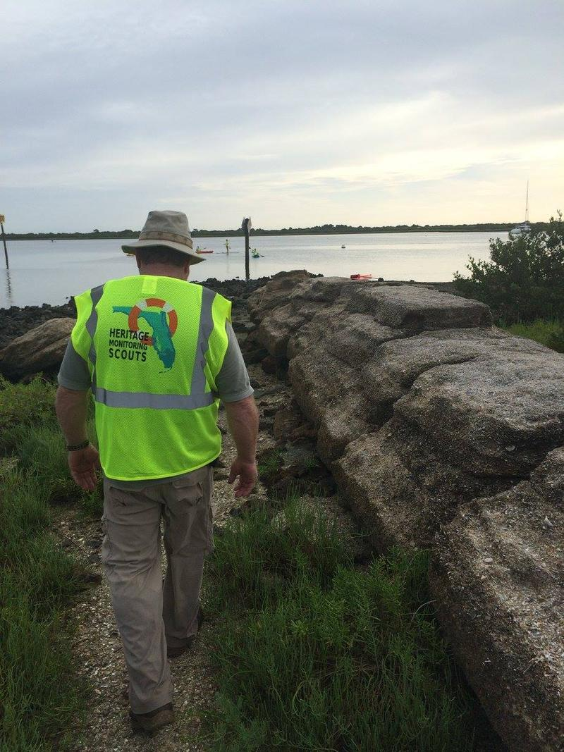 Volunteers take part in the new Heritage Monitoring Scouts program.