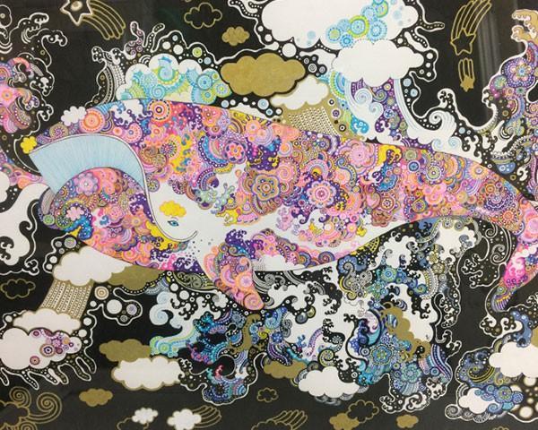 Artwork by Yume Matsuo, 2017 GGAF Invited International Artist.