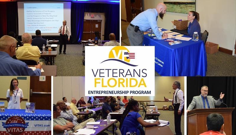 UWF is one of six network partners with the Veterans Florida Entrepreneurship Program