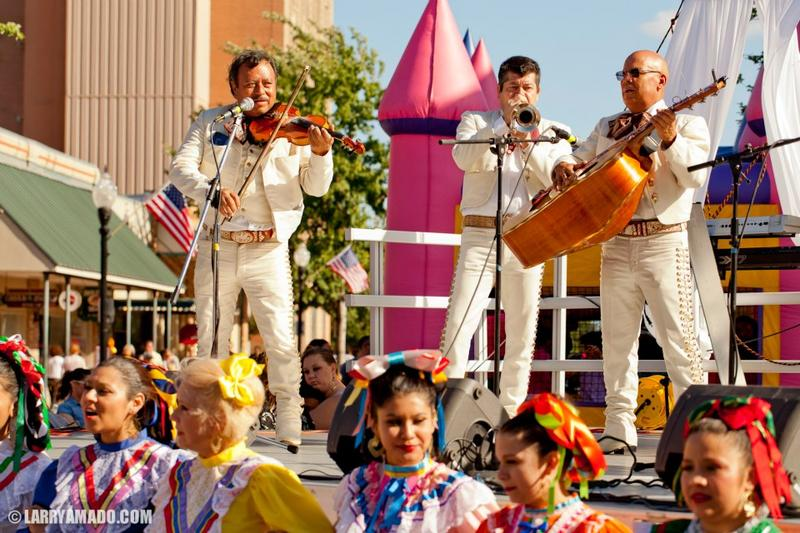 Performers at a previous Cinco de Mayo celebration in Pensacola.