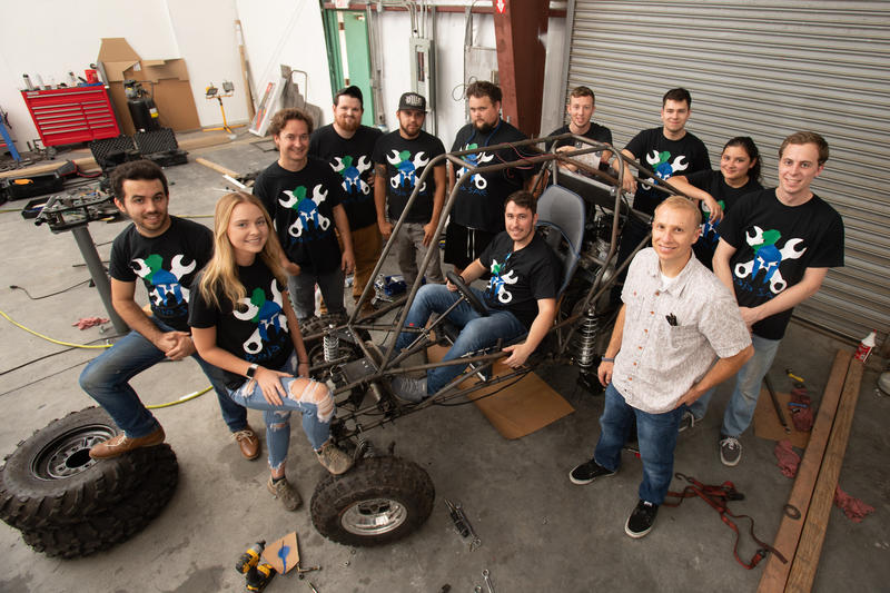 Assistant Professor, MBA, Mechanical Engineering Joseph Piacenza PhD with the University of West Florida SAE Baja Team will take their car to compete at SAE Baja Kansas. The University of West Florida will be traveling to Pittsburg, Kansas Wednesday May 1