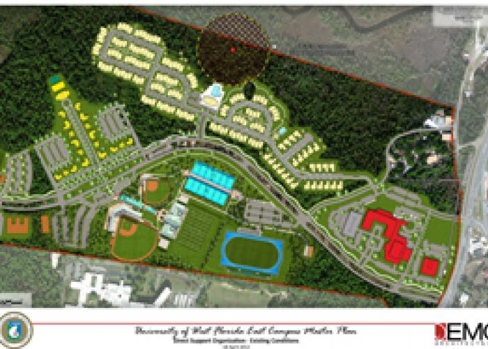 Construction On Campus Projects At UWF In Varying Stages WUWF