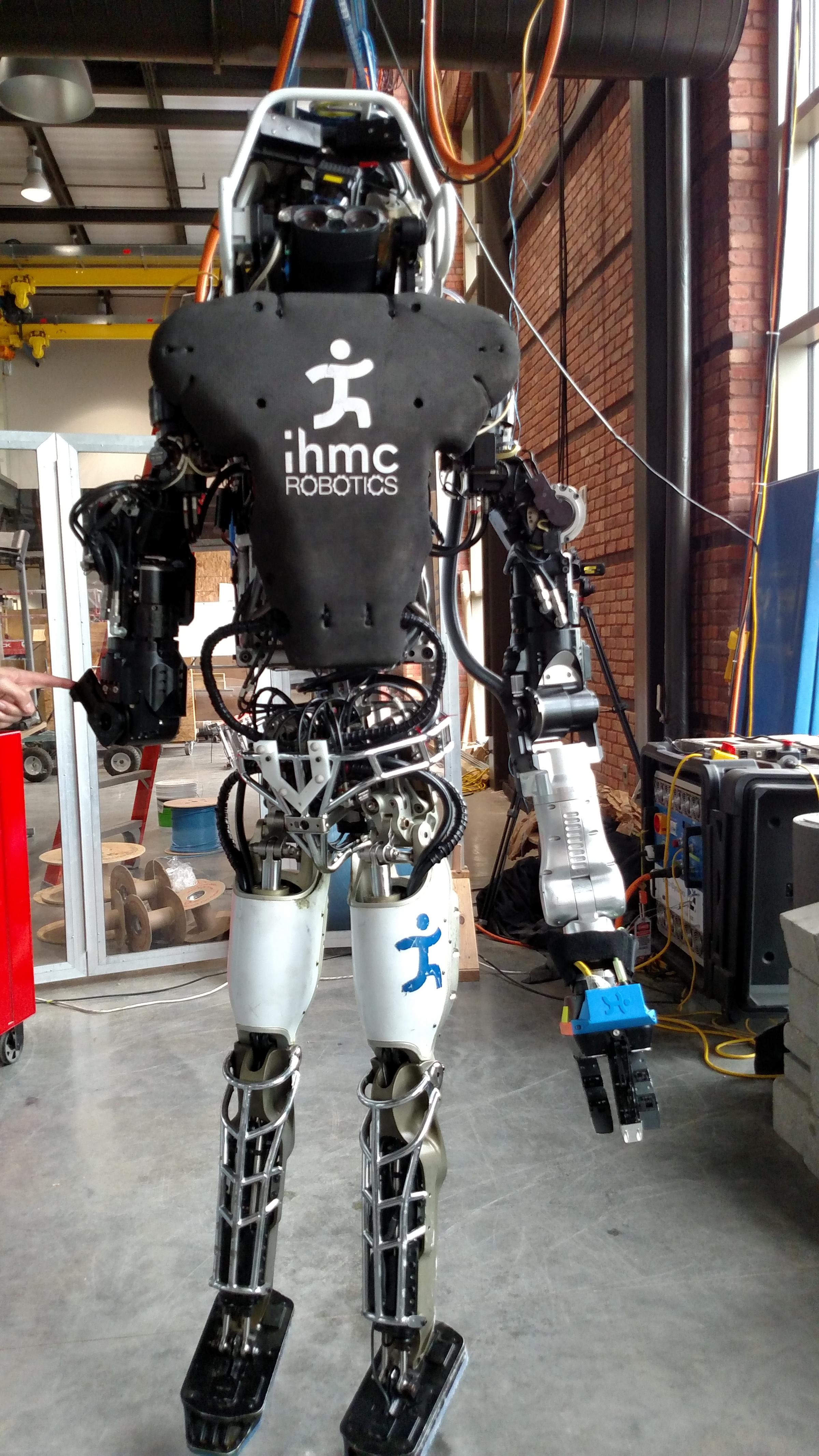 Ihmc Research On Display At Robotics Week Open House Wuwf