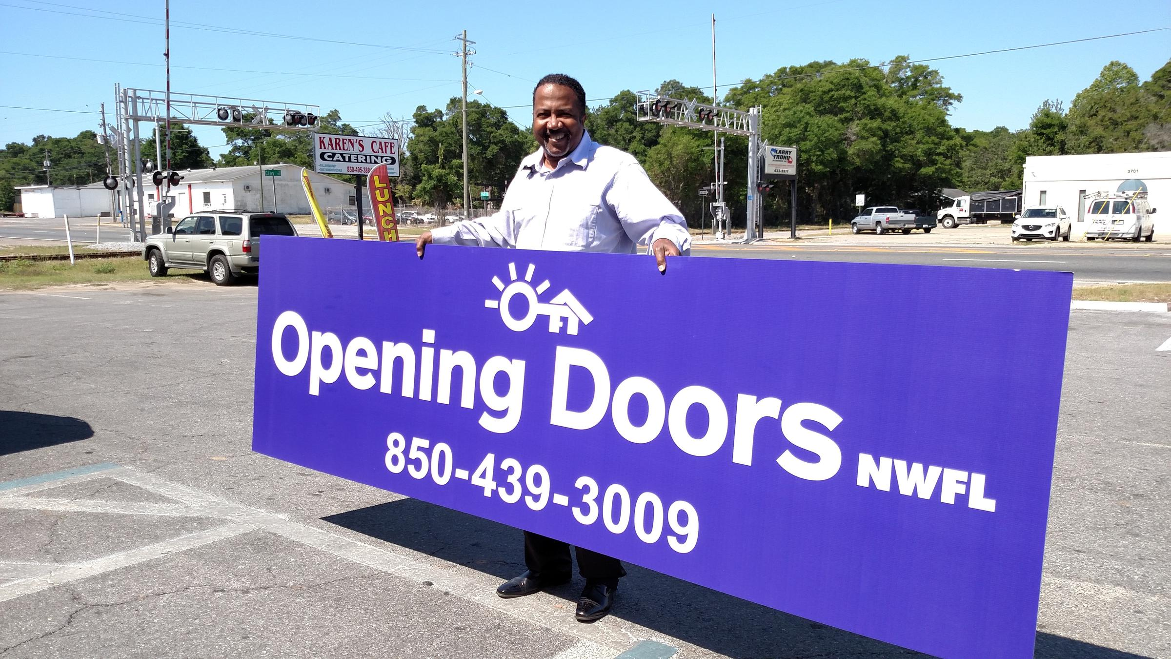 Homeless Agency Reintroduced As u0027Opening Doors Northwest Floridau0027 & Homeless Agency Reintroduced As u0027Opening Doors Northwest Floridau0027 | WUWF