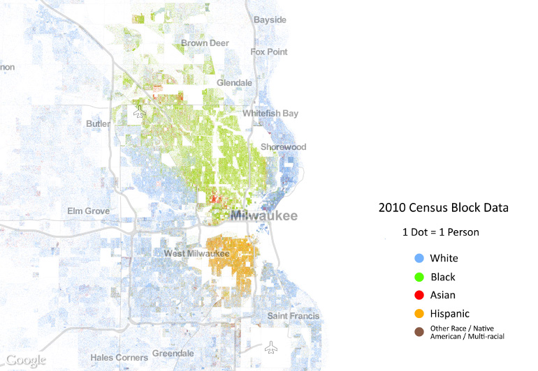 New Ranking Milwaukee Still Country39s Most Segregated