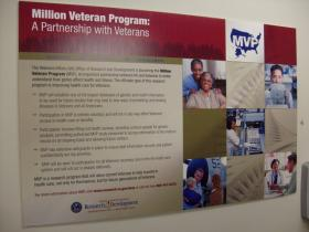 The Million Veteran Program aims to collect blood samples and medical histories from a million vets for a research database.