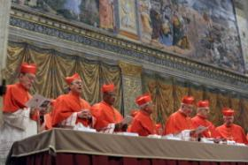 Cardinals selecting new pope