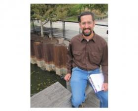 Mike Marek - working with a team - tinkered with the bouyant habitat design for over a decade.