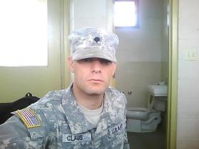 Army veteran Justin Claus has struggled to find work since leaving the Army in 2010.