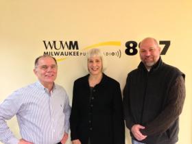 Tom Luljak, Lee Ann Garrison and Corbett Toomsen