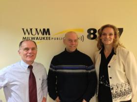 Tom Luljak, Luc Vanier and Wendy Huddleston