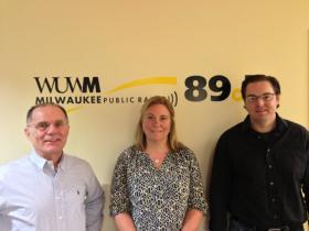 Tom Luljak, Rebecca Klaper and Todd Miller