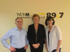 Tom Luljak with Lori Klos and Susan Kundrat