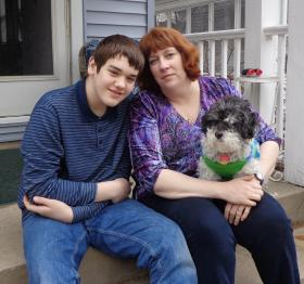 Aaron and Sandy Krause are proponents of the special needs vouchers. Aaron has autism, and says he's been able to perform much better in a small, private school than in a public school