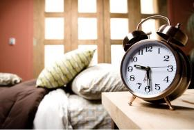 """Residents of most states lost an hour of sleep when time """"sprang forward"""" over the weekend."""