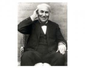Thomas Alva Edison listened to his team.